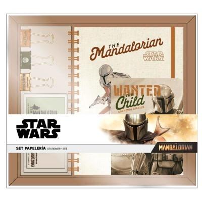 Set papelaria Yoda Child The Mandalorian Star Wars