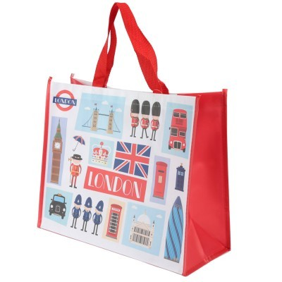 Saco da compras guarda real de Londres