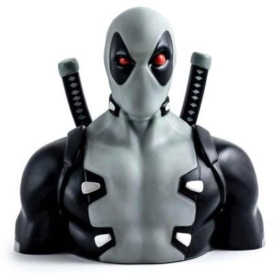 Busto Mealheiro Deadpool X Force Marvel 20cm