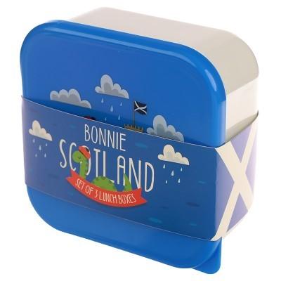 Conjunto de 3 Fiambreras - Nessie Bonnie Escocia