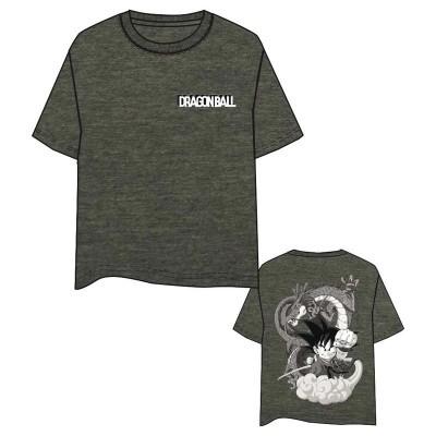 T-shirt Goku and Shenron Dragon Ball adulto