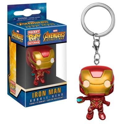 Porta-chaves Pocket POP Marvel Avengers Infinity War Iron Man