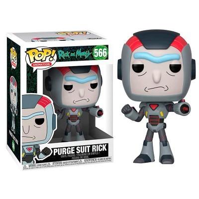 Figura POP Rick and Morty Purge Suit Rick