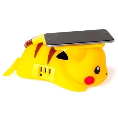 Carregador sem fios Pikachu Pokemon