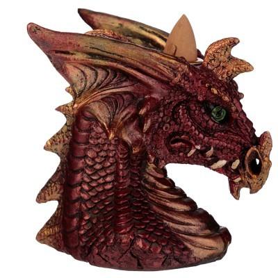 Queimador de Incenso Refluxo - Cabeça de Dragão