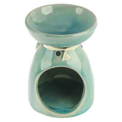 Queimador de óleo cerâmica Folha Tropical