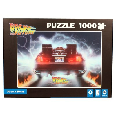 Puzzle Delorean Out a Time Back to the future 1000pcs