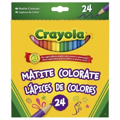 Blister 24 lápis de cores Crayola