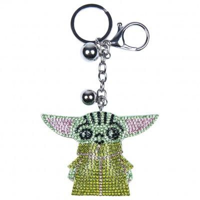 Porta-chaves 3D Yoda Child The Mandalorian Star Wars