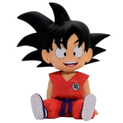 Figura Mealheiro Chibi Son Goku Dragon Ball 16cm