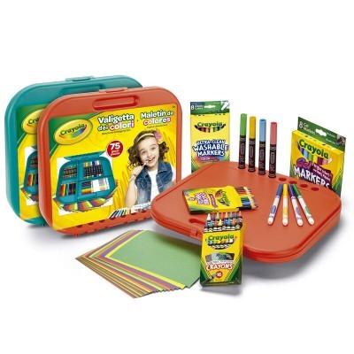 Maleta de cores Crayola 75pcs