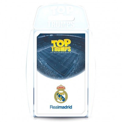 Jogo cartas Real Madrid Top Trumps