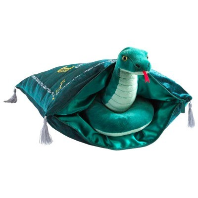 Almofada com mascote Slytherin Harry Potter