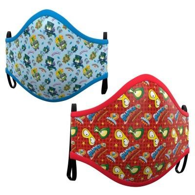 Pack 2 Máscaras Superzings sortido infantil