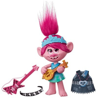 Boneca Poppy Rock Trolls World Tour