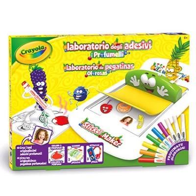 Laboratório autocolantes Olorosas Crayola