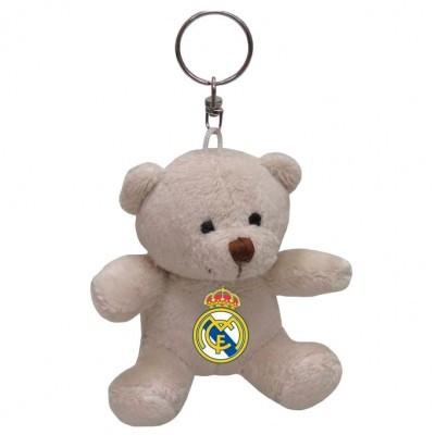 Porta-chaves Ursinho Real Madrid 8cm
