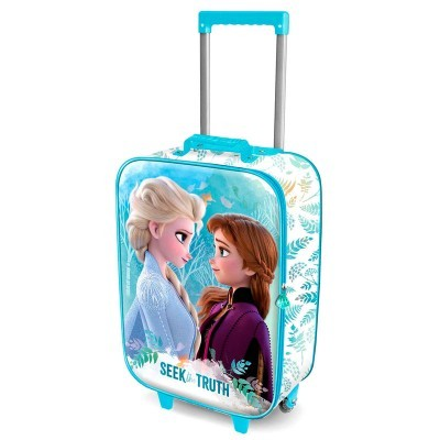 Mala Mochila troley 3D Frozen 2 Seek Disney 52cm