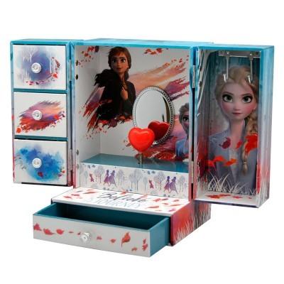 Caixa de jóias musical armário Frozen 2 Disney