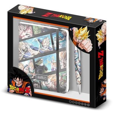 Set Diário + Caneta Frames Dragon Ball Z