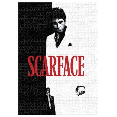 Puzzle Poster The World is Yours Scarface 1000pcs