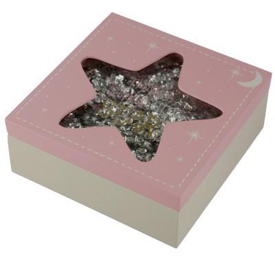 Caixa madeira Estrela menina