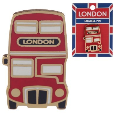 Pin - Autocarro Londres