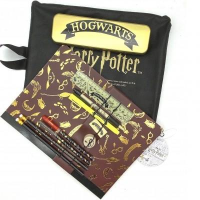 Conjunto papelaria Hogwarts Harry Potter