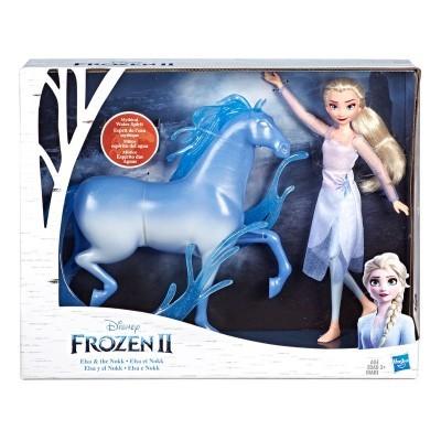 Set figuras Elsa & Nokk Frozen 2 Disney