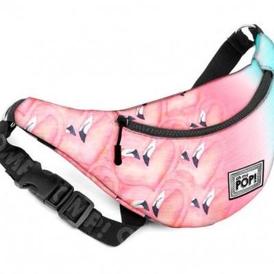 Bolsa cintura Oh My POP Flamingo