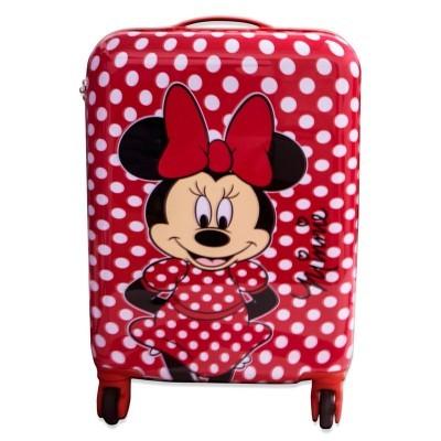 Mala troley ABS Minnie Disney 4 rodas 48cm
