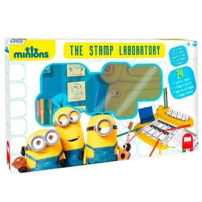 Laboratório actividades + 5 carimbos Minions