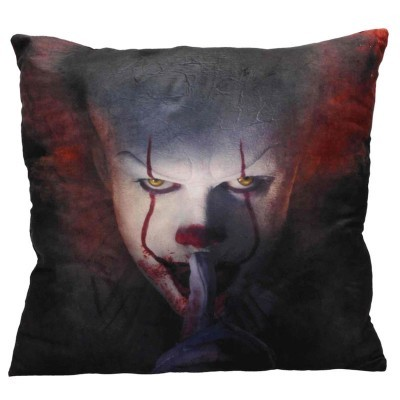 Almofada Pennywise Shut Up IT 2017