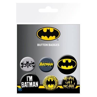 Conjunto crachás Batman DC Comics
