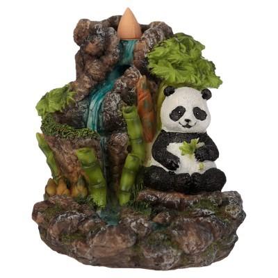 Queimador de Incenso Refluxo - Panda Cascata