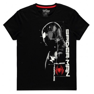 T-shirt Silhouette Miles Morales Spiderman Marvel
