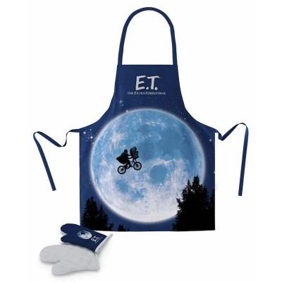 Avental com luvas E.T.
