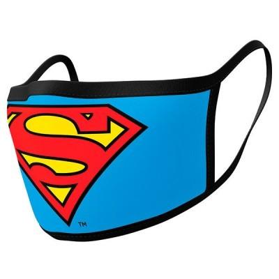 Pack 2 Máscaras reutilizávels premium Superman DC Comics