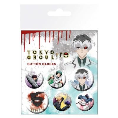 Conjunto crachás Tokyo Ghoul RE
