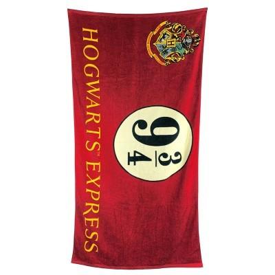 Toalha Hogwarts Express 9 3/4 Harry Potter algodão