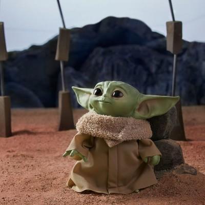 Peluche Yoda The Child Star Wars com sonidos 19cm