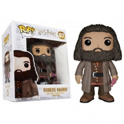 Figura POP Ruebus Hagrid Harry Potter 15cm