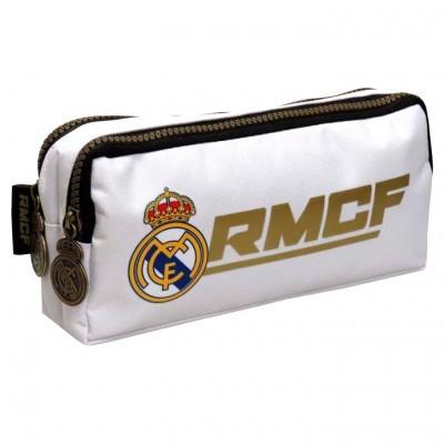 Estojo porta lápis Real Madrid duplo