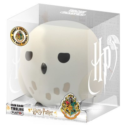 Figura Mealheiro Chibi Hedwig Harry Potter 16cm