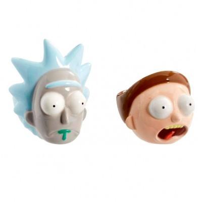 suporte de ovos Rick and Morty