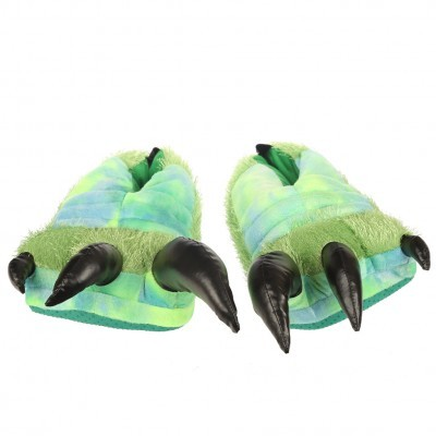 Pantufas De Dinossauro (Unisex Tamanho único)