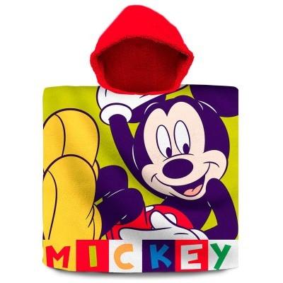 Poncho Toalha Mickey Disney algodão