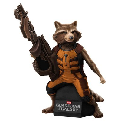 Figura Mealheiro Rocket Raccoon Guardians of the Galaxy Marvel