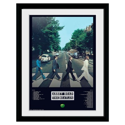 Foto moldura Abbey Road Tracks The Beatles