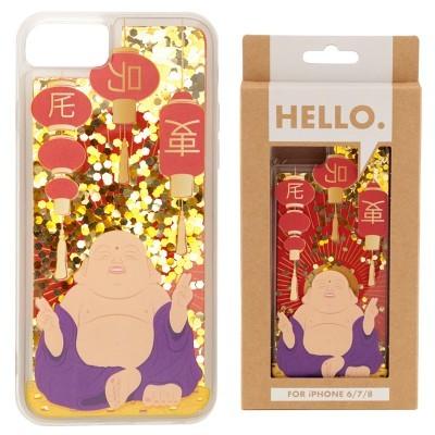 Capa para Telemóvel com Glitter (iPhone 6/7/8) - Buda da Sorte